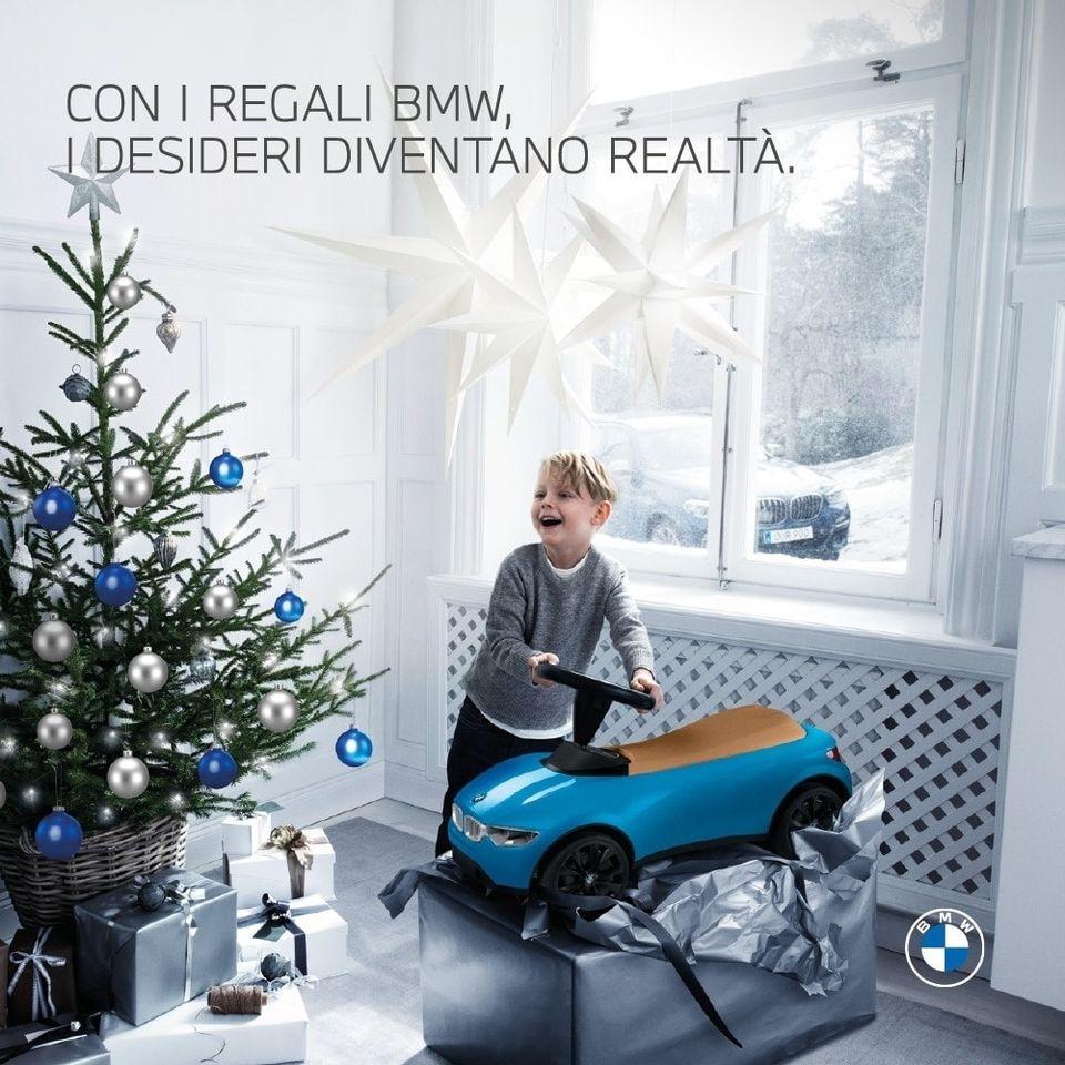 Natale Con I Regali BMW, I Desideri Diventano Realtà.