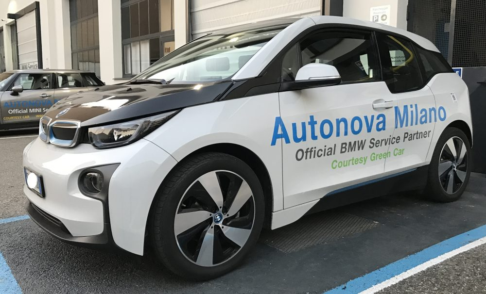 "BMW I3 Courtesy Green Car…..       0% Emission + Free Entry In ""AREA C"" !!!"