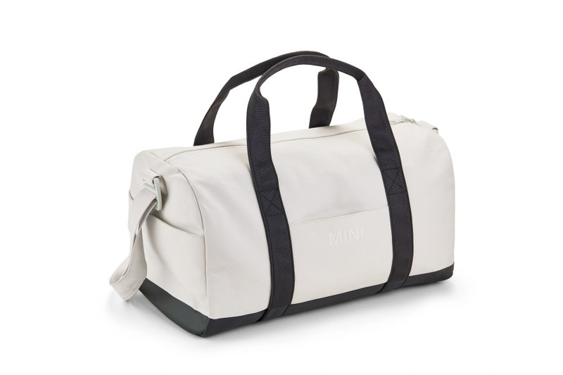 MINI Duffle Bag White/Black