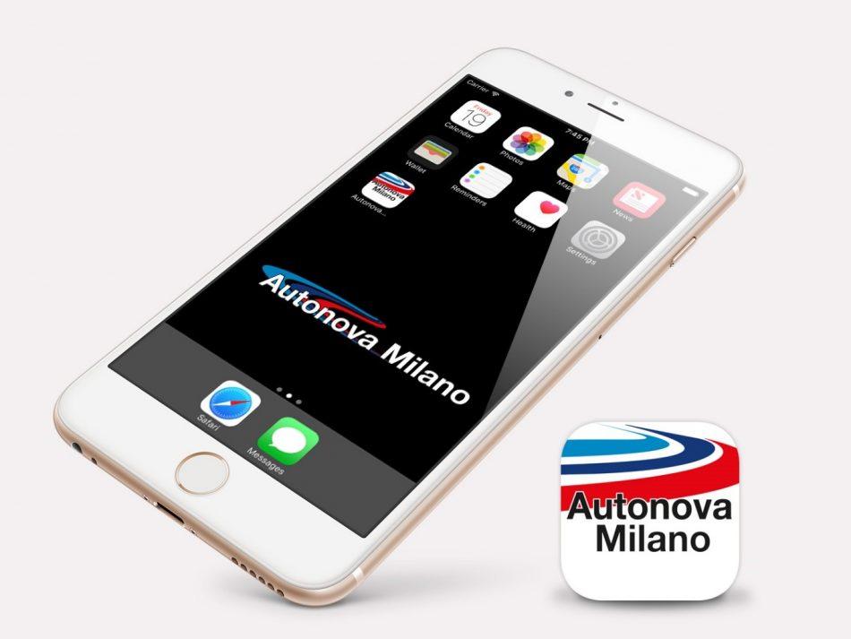 Nuova App Autonova Milano