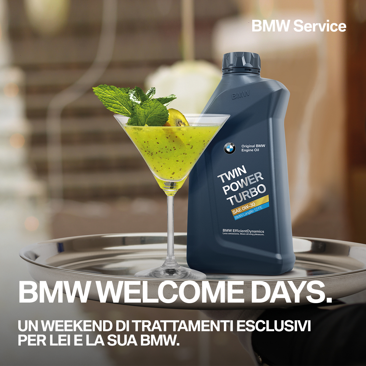 7 E 8 Ottobre BMW Welcome Days
