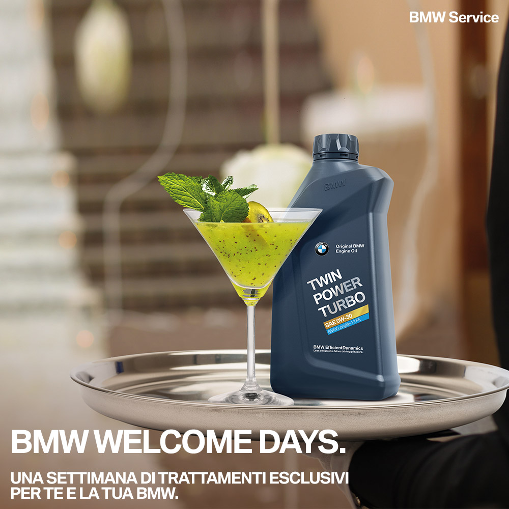 BMW WELCOME DAYS