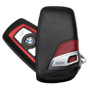 Astuccio Portachiave In Pelle BMW Sport