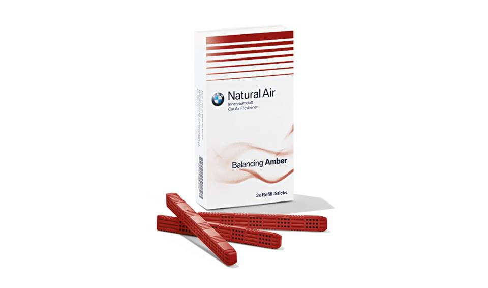 Refill Kit Deodorante Abitacolo Amber