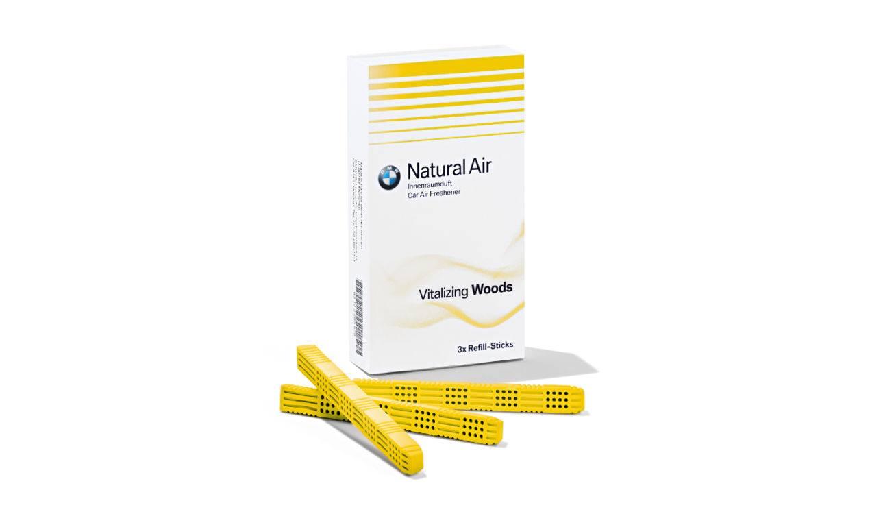 Refill Kit Deodorante Abitacolo Woods