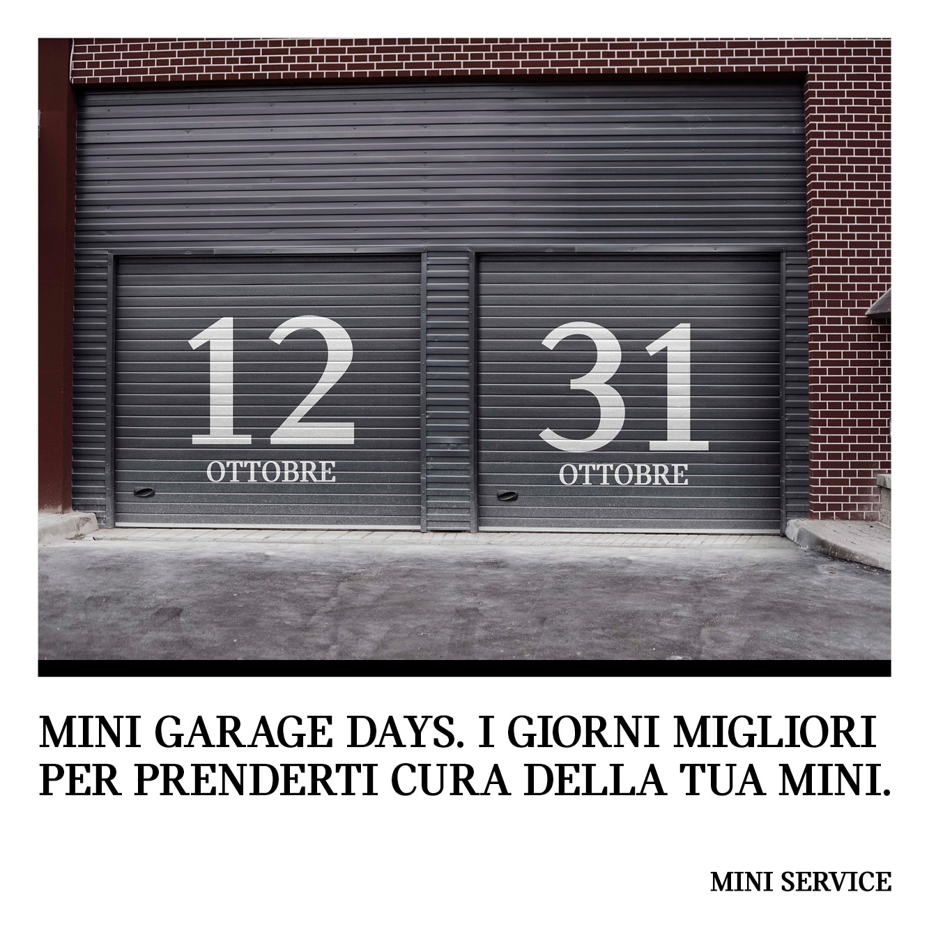 MINI GARAGE DAYS 2020
