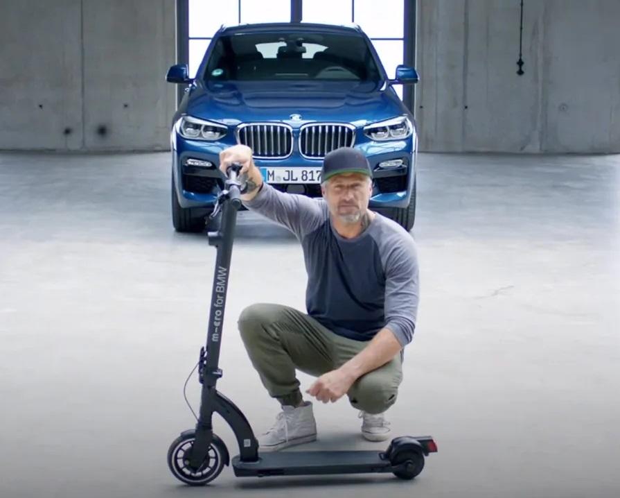 E' Arrivato Il Nuovo E-Scooter BMW Courtesy